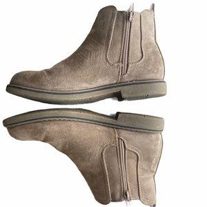 Steve Madden girls side zip ankle boots sz 5